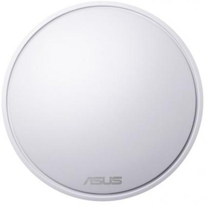Точка доступа ASUS MAP-AC1300 3-PK 802.11abgnac 867Mbps 5 ГГц 2.4 ГГц 1xLAN LAN белый беспроводная точка доступа mikrotik rbmapl 2nd map lite with 650mhz cpu 64mb ram 1xlan built in dual chain 2 4ghz 802 11bgn dual chain wireless with integrated
