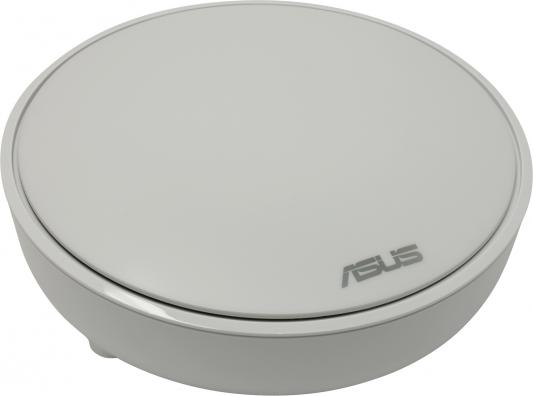 Точка доступа ASUS Lyra MAP-AC2200 802.11abgnac 867Mbps 5 ГГц 2.4 ГГц 1xLAN белый беспроводная точка доступа mikrotik rbmapl 2nd map lite with 650mhz cpu 64mb ram 1xlan built in dual chain 2 4ghz 802 11bgn dual chain wireless with integrated
