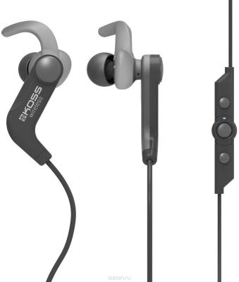 Наушники KOSS BT190iB black , вставные,спорт (Bluetooth, с микрофоном, 4 часа) наушники с микрофоном koss cs 100