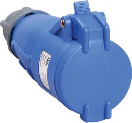 Купить Iek PSN21-016-3 Розетка переносная ССИ-213 16А-6ч/200-250В 2Р + РЕ IP44 MAGNUM ИЭК, синий