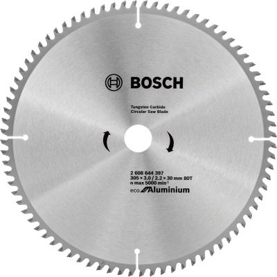 Диск пильный Bosch ECO AL 305 ммx30 мм 80зуб 2608644397 пильный диск bosch eco for wood 2608644383 254х30 мм