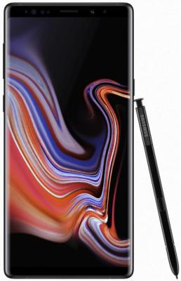 Смартфон Samsung Galaxy Note 9 128 Гб черный (SM-N960FZKDSER) смартфон samsung galaxy s10 128 гб перламутровый sm g973fzwdser