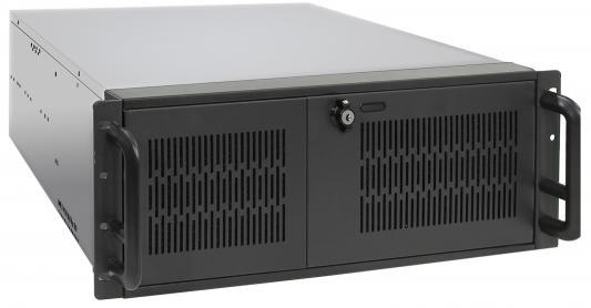 Exegate EX248519RUS Серверный корпус Exegate Pro 4U650-010/4U4139L <RM 19, высота 4U, глубина 650, БП 800ADS, USB>