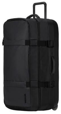 Чемодан для путешествий Incase TRACTO Roller Duffel L. Материал пластик, нейлон. Объем 142 л. Цвет черный. сумка универсальная incase travel duffel нейлон черный cl90005
