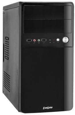 Корпус microATX Exegate BA-110 500 Вт чёрный (EX261444RUS)