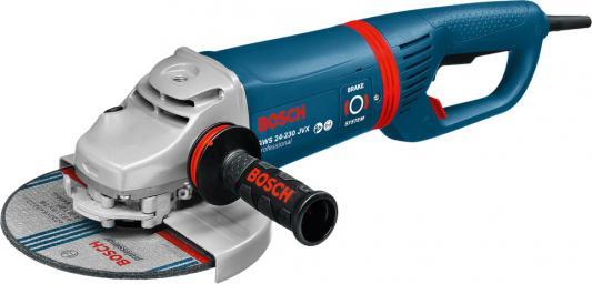 Углошлифовальная машина Bosch GWS 24-230 JVX 230 мм 2400 Вт углошлифовальная машина bosch gws 26 230 lvi 2600 вт 0601895f04