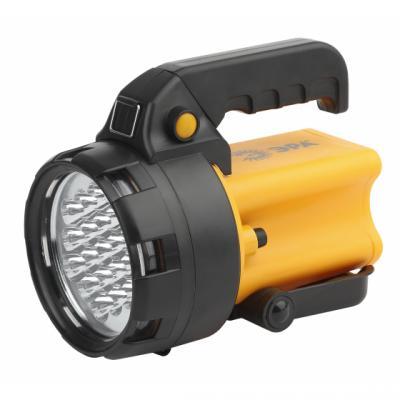 цена на ЭРА Б0031033 Фонарь-прожектор PA-602 АЛЬФА {19 светодиодов, аккумулятор литий 3Ач, ЗУ 220V+12V}