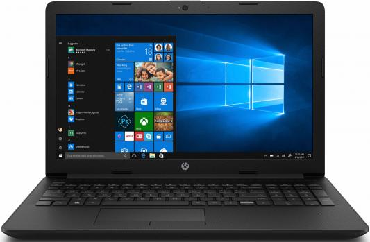 "Ноутбук HP 15-da0062ur <4JR13EA> Pentium N5000 (1.1)/4Gb/500GB/15.6"" FHD AG/NV GeForce MX110 2GB/No ODD/Cam/DOS (Jet Black) цена 2017"