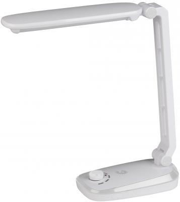 Фото - ЭРА Б0019134 Настольный светодиодный светильник NLED-425-4W-W белый {Светильник настольный складной, аккумулятор, плавный диммер яркости, цвет. температура 3000К} настольный светильник task