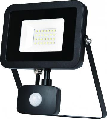 ЭРА Б0029431 Прожектор светодиодный LPR-30-2700К-М-SEN SMD Eco Slim {30W, 2700К, с датчиком движения} прожектор уличный эра lpr 30 2700к м sen smd 30вт с датчиком движения [б0028657]