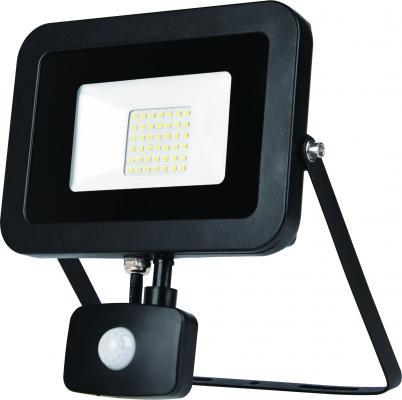 ЭРА Б0029434 Прожектор светодиодный LPR-50-2700К-М-SEN SMD Eco Slim {50W, 2700К, с датчиком движения} прожектор уличный эра lpr 30 2700к м sen smd 30вт с датчиком движения [б0028657]