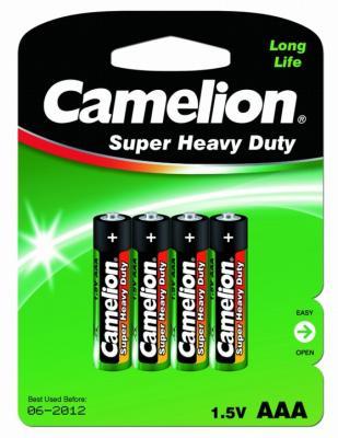 Батарейки Camelion R03P-BP4G AAA 4 шт батарейка aaa camelion blue r03 r03p bp4b 4 штуки