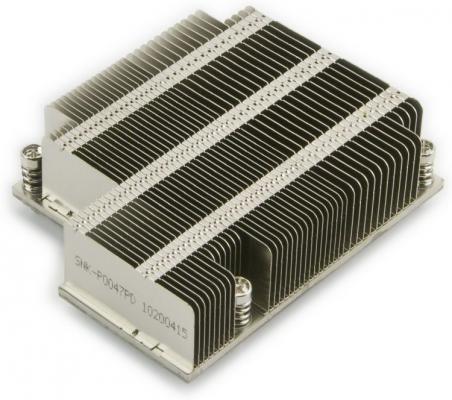 Supermicro SNK-P0047PD 1U {Socket LGA2011/2011-3 (Square ILM, Intel Xeon E5-2600} supermicro snk p0047pd 1u socket lga2011 2011 3 square ilm intel xeon e5 2600