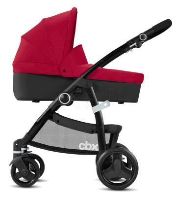 Коляска 2-в-1 CBX by Cybex Leotie Pure (crunchy red) коляска 2 в 1 chicco trio stylego red passion