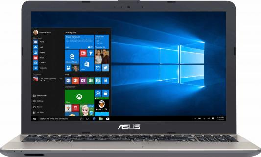 Ноутбук Asus VivoBook X541UV-GQ1425T Core i3 6006U/4Gb/1Tb/nVidia GeForce 920M 2Gb/15.6/HD (1366x768)/Windows 10/black/WiFi/BT/Cam x541uv gq1471t
