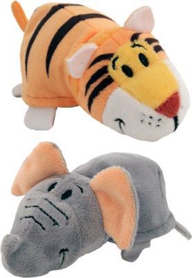 цены Вывернушка Слон-Тигр 1toy Слон-Тигр наполнитель плюш пластик 12 см