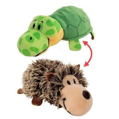 Вывернушка Еж-Черепаха 1toy Еж-Черепаха наполнитель плюш пластик 12 см еж стайл линейка supermiao batman 19 см