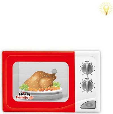 Фото - Микроволновая печь Наша Игрушка Счастливая семья со звуком и светом микроволновая печь наша игрушка микроволн печь со светом y3063388