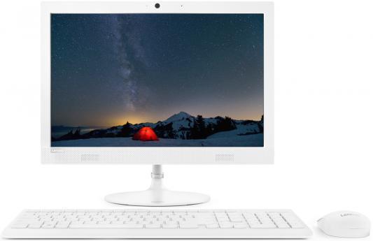 Lenovo IdeaCentre AIO 330-20IGM Monitor stand 19.5(1440x900)/Intel Pentium J5005(1.5Ghz)/4096Mb/500Gb/DVDrw/Int:Intel UHD Graphics 605/BT/WiFi/war 1y/3.9kg/white/W10 + Клавиатура, мышь USB monitor 19