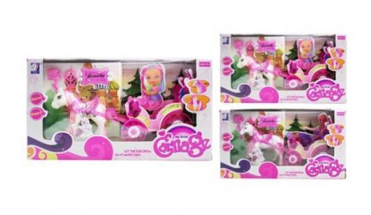 Карета с лошадью Наша Игрушка Карета летняя с лошадкой игрушка конструктор забияка королевская карета 1157895