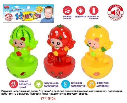 Неваляшка Наша Игрушка Неваляшки Нуники игрушка