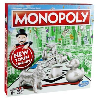 Настольная игра HASBRO ходилка Монополия Классическая настольная игра hasbro монополия миллионер 98838