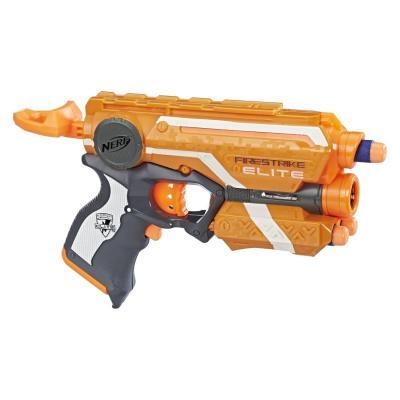 Бластер Hasbro Элит Файрстрайк оранжевый 53378EU4 hasbro hasbro трансформаторы allspark пользовательская подарочная коробка