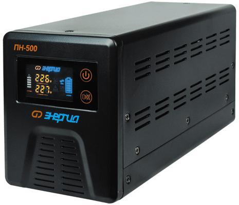 Инвертор ЭНЕРГИЯ ПН-500 12В 300VA инвертор преобразователь напряжения энергия пн 1000