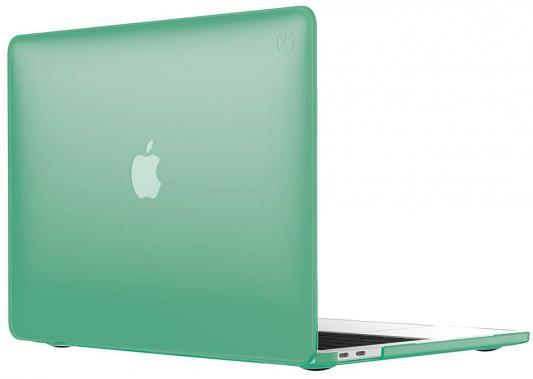 "Чехол-накладка Speck SmartShell для ноутбука MacBook Pro 13"" с Touch Bar. Материал пластик. Цвет: зеленый. аксессуар чехол macbook pro 13 speck seethru pink spk a2729"