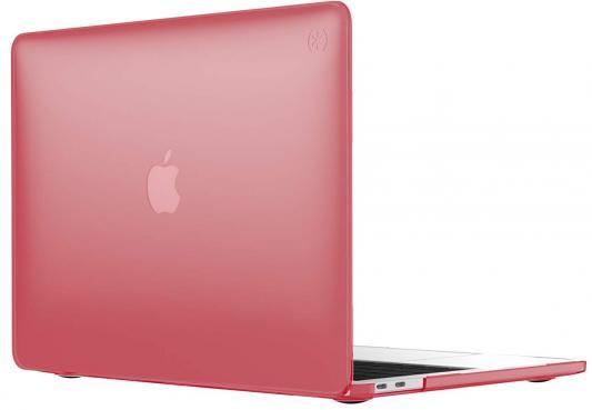 "Чехол-накладка Speck SmartShell для ноутбука MacBook Pro 13"" с Touch Bar. Материал пластик. Цвет: красный. аксессуар чехол macbook pro 13 speck seethru pink spk a2729"