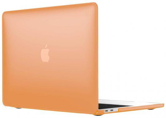 "Чехол-накладка Speck SmartShell для ноутбука MacBook Pro 13"" с Touch Bar. Материал пластик. Цвет: оранжевый. аксессуар чехол macbook pro 13 speck seethru pink spk a2729"