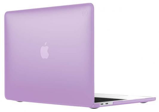 "Чехол-накладка Speck SmartShell для ноутбука MacBook Pro 13"" с Touch Bar пластик фиолетовый 110608-7355 аксессуар чехол macbook pro 13 speck seethru pink spk a2729"