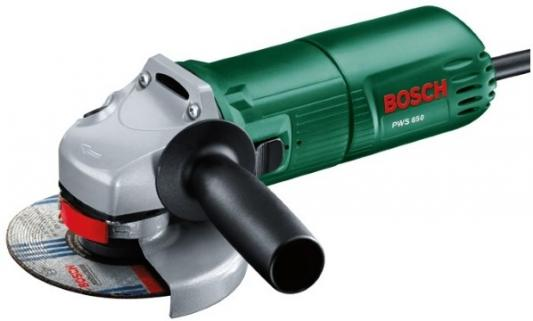 Картинка для Углошлифовальная машина Bosch PWS 650 115 мм 650 Вт