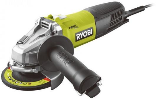 Углошлифовальная машина Ryobi RAG750-115G 115 мм 750 Вт шлифовальная машина ryobi r18ps 0