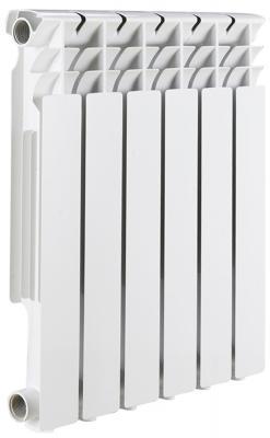 Радиатор биметаллический ROMMER Optima BM 500/78 6 секций теплоотдача 750Вт цена