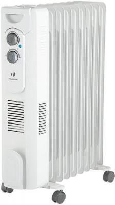 Масляный радиатор Timberk TOR 31.1606 QT 1600 Вт белый