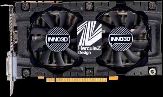 Видеокарта Inno3D GeForce GTX 1070 INNO3D GEFORCE GTX 1070 X2 V4 PCI-E 8192Mb GDDR5 256 Bit Retail (N1070-4SDV-P5DS) видеокарта inno3d geforce gtx 1070 ti twin x2 8gb n107t 1sdn p5dn