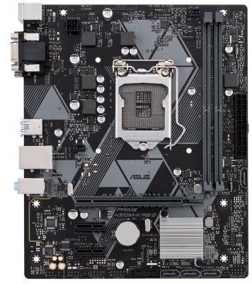 Картинка для Материнская плата ASUS PRIME H310M-K R2.0 Socket 1151 v2 H310 2xDDR4 1xPCI-E 16x 2xPCI-E 1x 4 mATX Retail