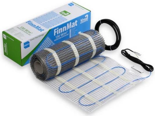 Теплый пол ENSTO FinnMat EFHFM130.5 нагревательный мат 4мм 650Вт 5м2 гарантия 10лет теплый пол нагревательный мат rexant extra площадь 7 0 м2 0 5 х 14 0 метров 1120вт двух жильный