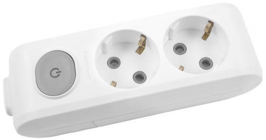 Купить Колодка Panasonic Wlta04202Wh-Res 2Гн С/з С Выключателем Белая X-Tendia