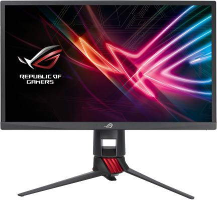Фото - Монитор 23.8 ASUS ROG Strix XG248Q черный TN 1920x1080 400 cd/m^2 1 ms DisplayPort HDMI Аудио USB 90LM03Z0-B01A70 автомагнитола jvc kd r571 usb mp3 cd fm rds 1din 4x50вт черный