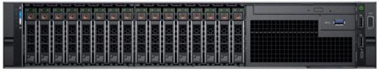 PowerEdge R740 (2)*Silver 4110 (2.1GHz, 8C), 32GB (2x16GB) RDIMM, No HDD (up to 16x2.5), PERC H730P+/2GB LP, Riser config #3 (4FH + 1LP), Broadcom 5720 QP 1Gb BT LOM, iDRAC9 Enterprise, RPS (2)*750W, Bezel w/o QuickSync, ReadyRails with CMA, 3Y ProSupport NBD компьютер dell precision t7920 silver 4110 32gb 2000gb hdd 256gb ssd win10pro 7920 2806