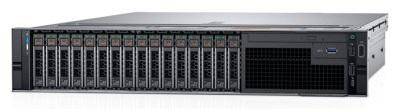 PowerEdge R740 (2)*Silver 4110 (2.1GHz, 8C), 32GB (2x16GB) RDIMM, No HDD (up to 8x3.5), PERC H730P+/2GB LP, Riser config #5 (7FH + 1LP), Broadcom 5720 QP 1Gb BT LOM, iDRAC9 Enterprise, RPS (2)*750W, Bezel w/o QuickSync, ReadyRails with CMA, 3Y ProSupport NBD компьютер dell precision t7920 silver 4110 32gb 2000gb hdd 256gb ssd win10pro 7920 2806