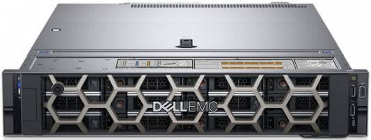 """Фото PowerEdge R540 (1)*Silver4110 (2.1GHz, 8C), 16GB (1x16GB) RDIMM, No HDD (up to 8x3.5""""), PERC H330+ int, Riser 1FH + 3LP, Integrated DP 1Gb LOM, DVD-RW, iDRAC9 Enterprise, PSU (1)*750W, Bezel, ReadyRails, 3Y Basic NBD"""