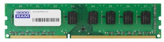 Оперативная память 4Gb (1x4Gb) PC3-12800 1600MHz DDR3 DIMM CL11 Goodram GR1600D364L11S/4G память sodimm ddr3 goodram 8gb for apple w amm13338g