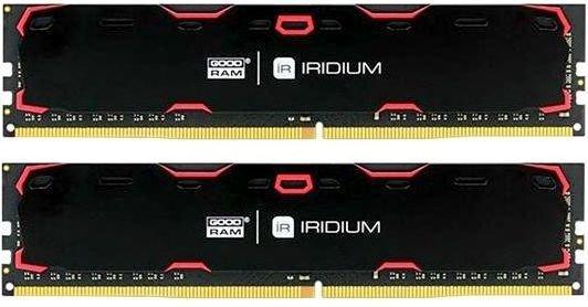 Оперативная память 8Gb (2x4Gb) PC4-19200 2400MHz DDR4 DIMM CL17 Goodram IR-2400D464L17S/8GDC
