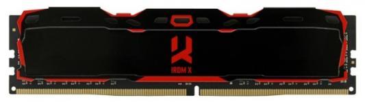 Модуль памяти DDR4 Goodram IRDM X Black 8GB KIT(4GBx2) 2800MHz CL16 SR [IR-X2800D464L16S/8GDC] with radiators