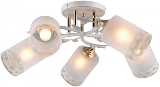Люстра HELENA E27X5X60W WHITE/GOLD 1243/5C diy 3w 3000k 315lm warm white light round cob led module 9 11v