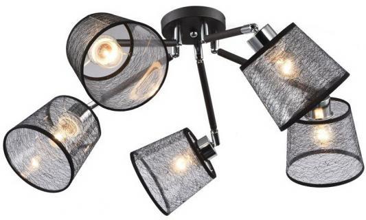 Люстра RENE E27X5X40W BLACK/CHROME 1090/5C n light 6261 2e14 chrome pearl black
