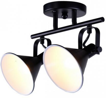 Спот GASTON E14X2X60W BLACK/WHITE 1379/2A jd 1401 6 led white light daytime running light for car black
